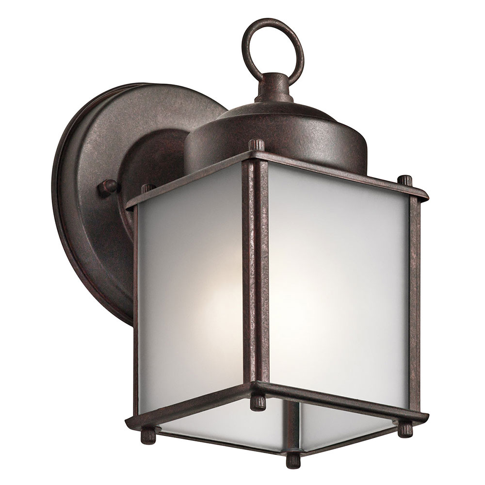 Kichler 9611TZS Tannery Bronze Outdoor Lighting Wall