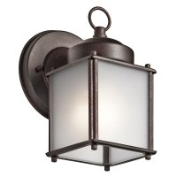 Kichler 9611TZS Tannery Bronze Outdoor Lighting Wall ...