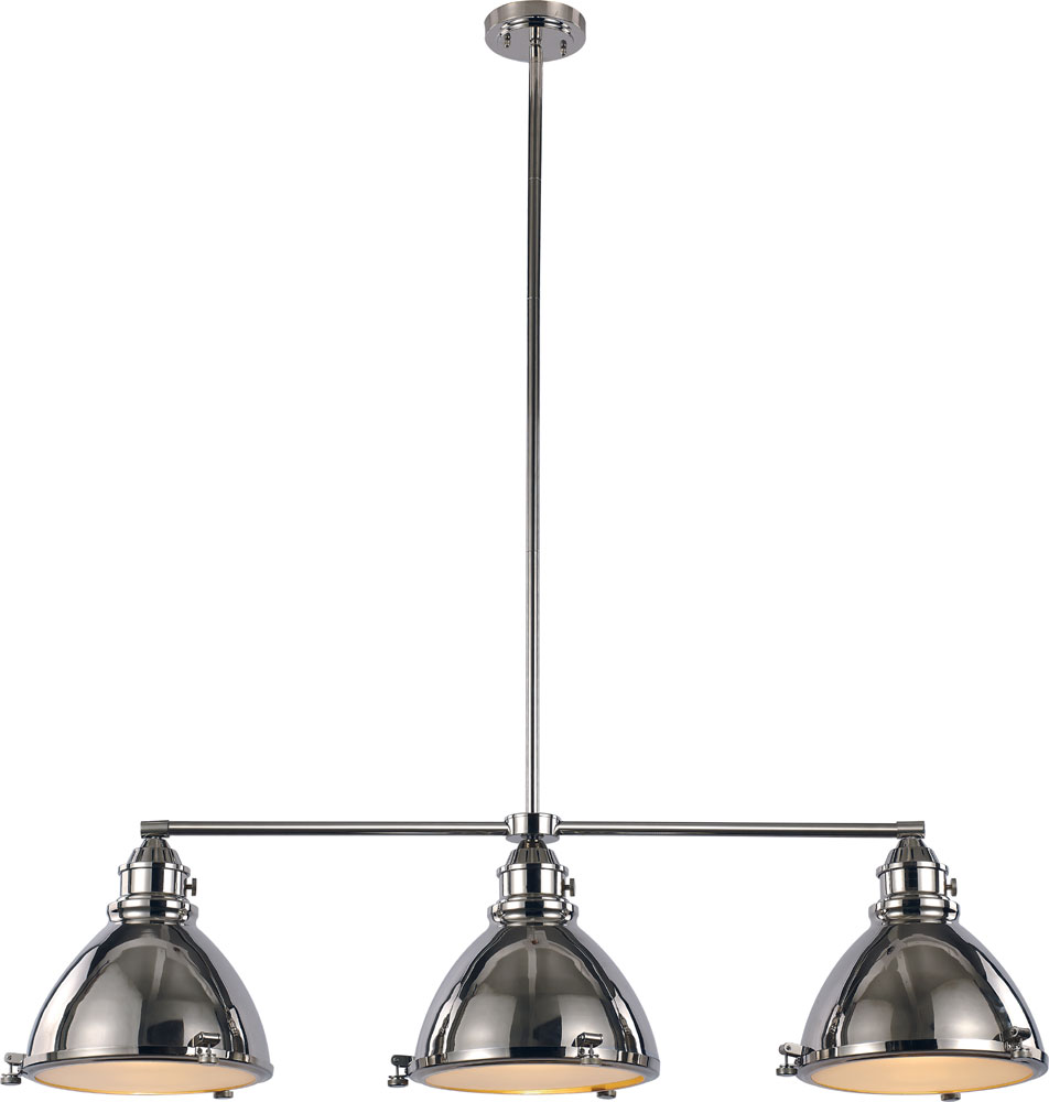 trans globe pnd 1007 pn vintage nautical polished nickel kitchen island light 6