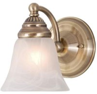 Vaxcel WL35121A Standford Antique Brass Wall Sconce - VXL ...