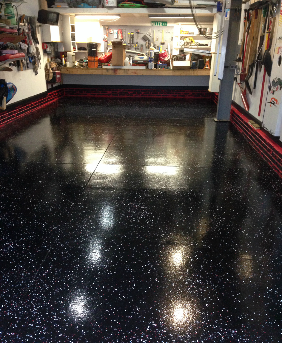 Epoxy Garage Floor Toronto Garage Floor Epoxy Garage Floor Epoxy Kit Colors