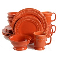 (GO92333-16) Western Barberware 16-Piece Dinnerware Set ...