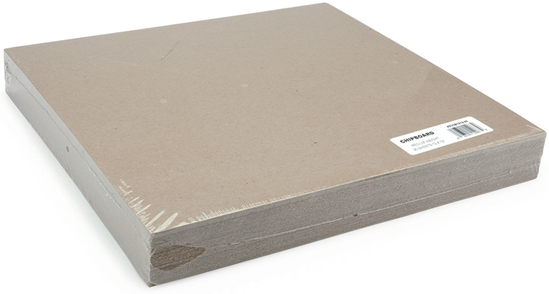 "Spanplatte Gewicht Chipboard Sheets (medium Weight/natural) - 12""x12"" 25/pkg"