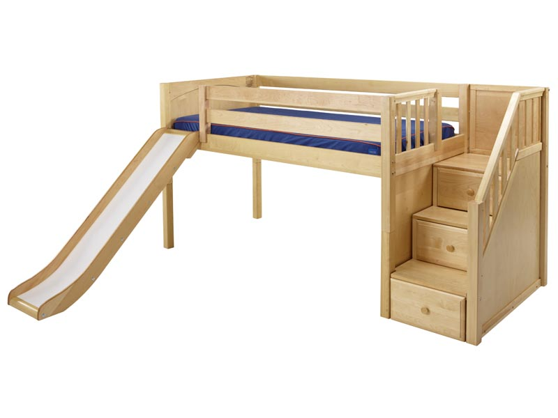 Pics photos loft bed with slide loft bed with slide