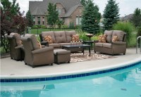 Giovanna Luxury 9-Piece All Weather Wicker/Cast Aluminum ...