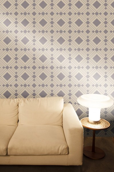 Diamond Taupe Removable Wallpaper by Tempaper - RosenberryRooms.com