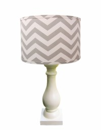 Grey Chevron Lamp Shade by Doodlefish - RosenberryRooms.com