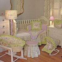 Lilac Garden Crib Bedding Set by Hoohobbers ...
