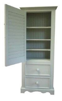 Small Linen Cabinet for Sale - Cottage & Bungalow