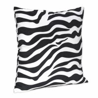 Zebra Print Decorative Accent Throw Pillow for Turquoise ...