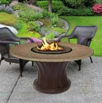 California Outdoor Concepts 7611 Rodeo Chat Height Fire Pit
