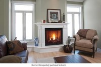 """Majestic 42"""" Onyx Direct Vent Gas Fireplace with Signature ..."""