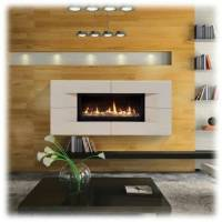 Monessen Serenade Wide View Direct Vent Gas Fireplace with ...