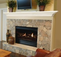 Pearl Mantels 618 Crestwood MDF Fireplace Mantel Shelf in ...