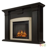 Adelaide Electric Led Heater Fireplace In Antique Black ...