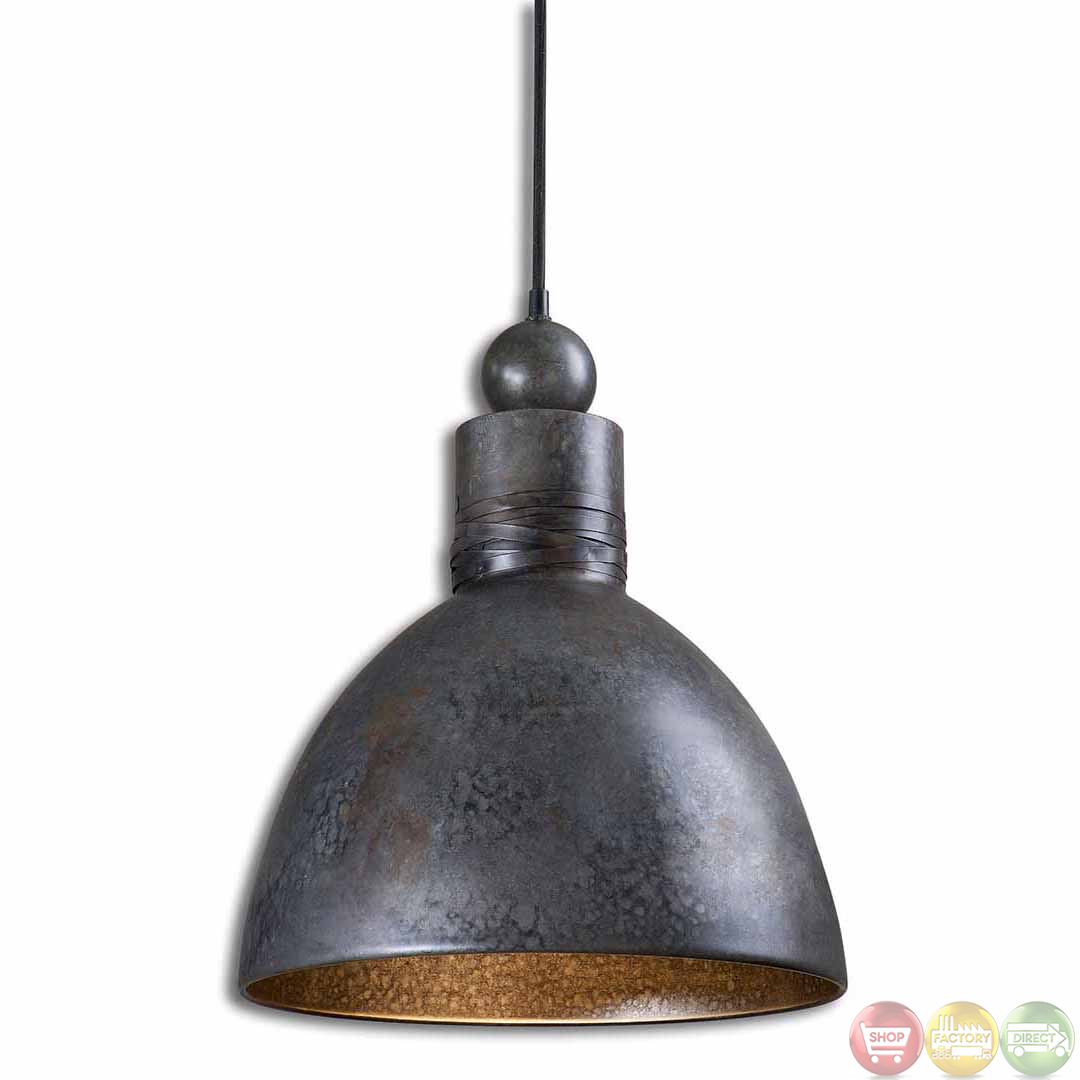 Light Pendants Adelino Rustic Single Pendant Light Fixture 21976