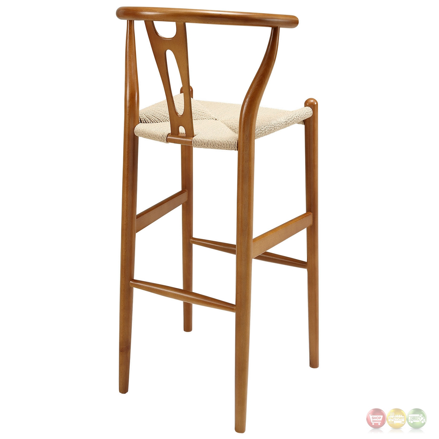Contemporary Bar Stools Amish Contemporary Solid Wood Bar Stool With Twined