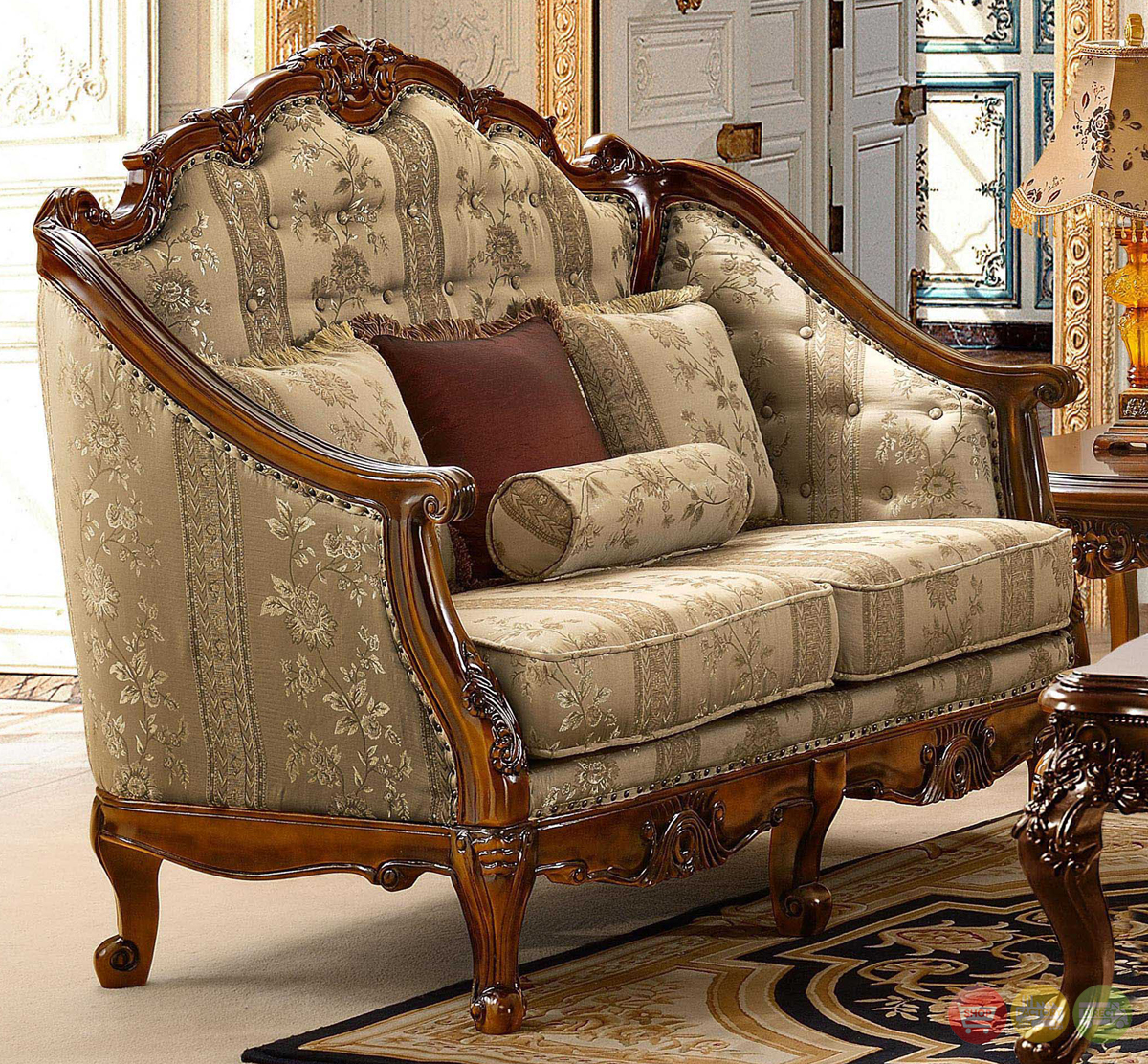 Stylish Recliner Antique Style Luxury Formal Living Room Furniture Set Hd 953
