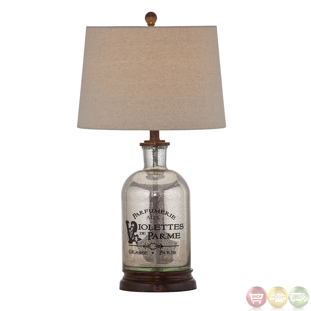 Brasserie Mercury Glass Table Lamp L2673TEC