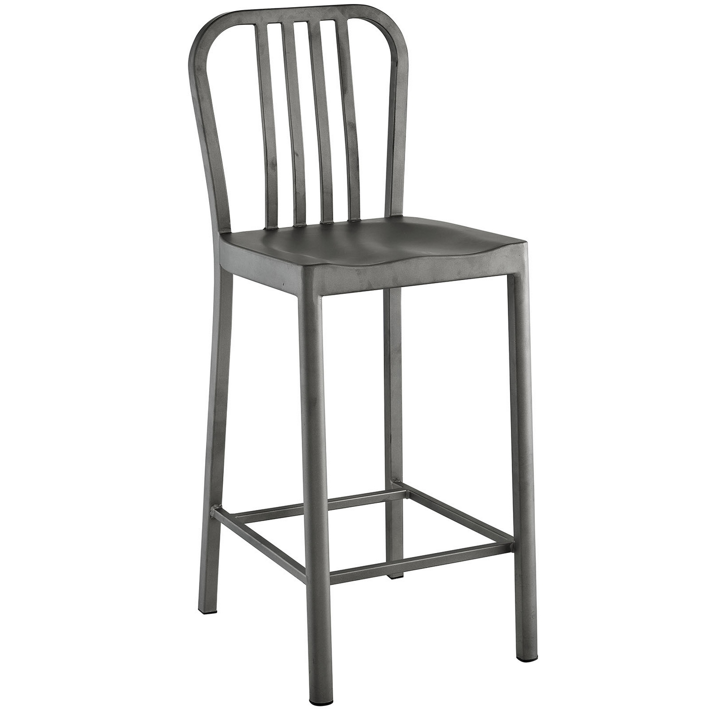 Industrial Counter Height Bar Stools Clink Industrial Counter Height Stool With Brushed Steel