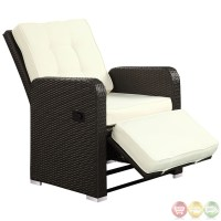 Commence Modern Outdoor Patio Armchair Recliner