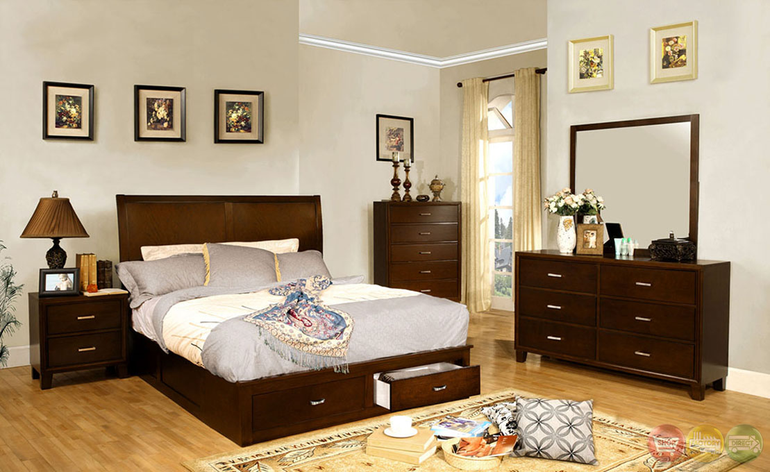 Platform Storage Bedroom Set