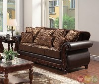 Dark Brown Living Room Sets