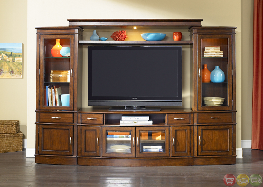 Entertainment Centers Hanover Large Tv Entertainment Center Unit With Piers