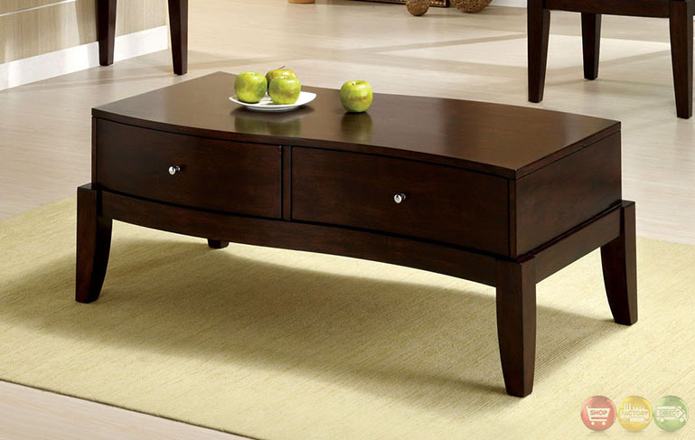 Le Mans Contemporary Espresso Accent Tables with 2