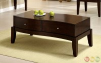 Le Mans Contemporary Espresso Accent Tables with 2-way ...