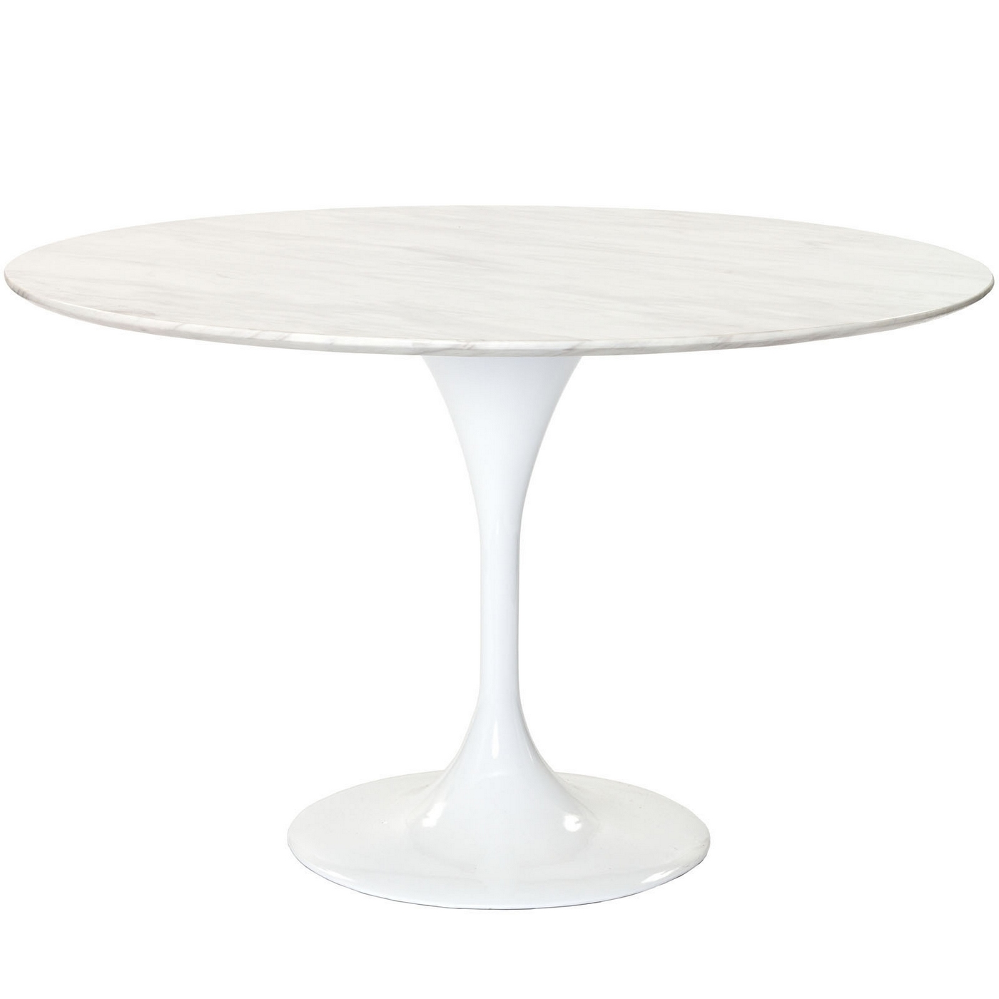 Round Marble Top Dining Table Lippa 48 Quot Round Marble Top Dining Table With Lacquered