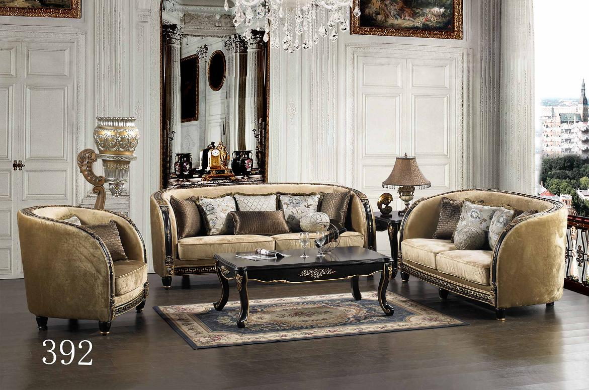 Michael Amini Chateau Beauvais Luxury Traditional Formal Living Room