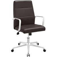 Stride Mid Back Office Chair Upholstered In Vinyl With ...
