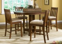 Urban Mission Counter Height Casual Dining Furniture Set