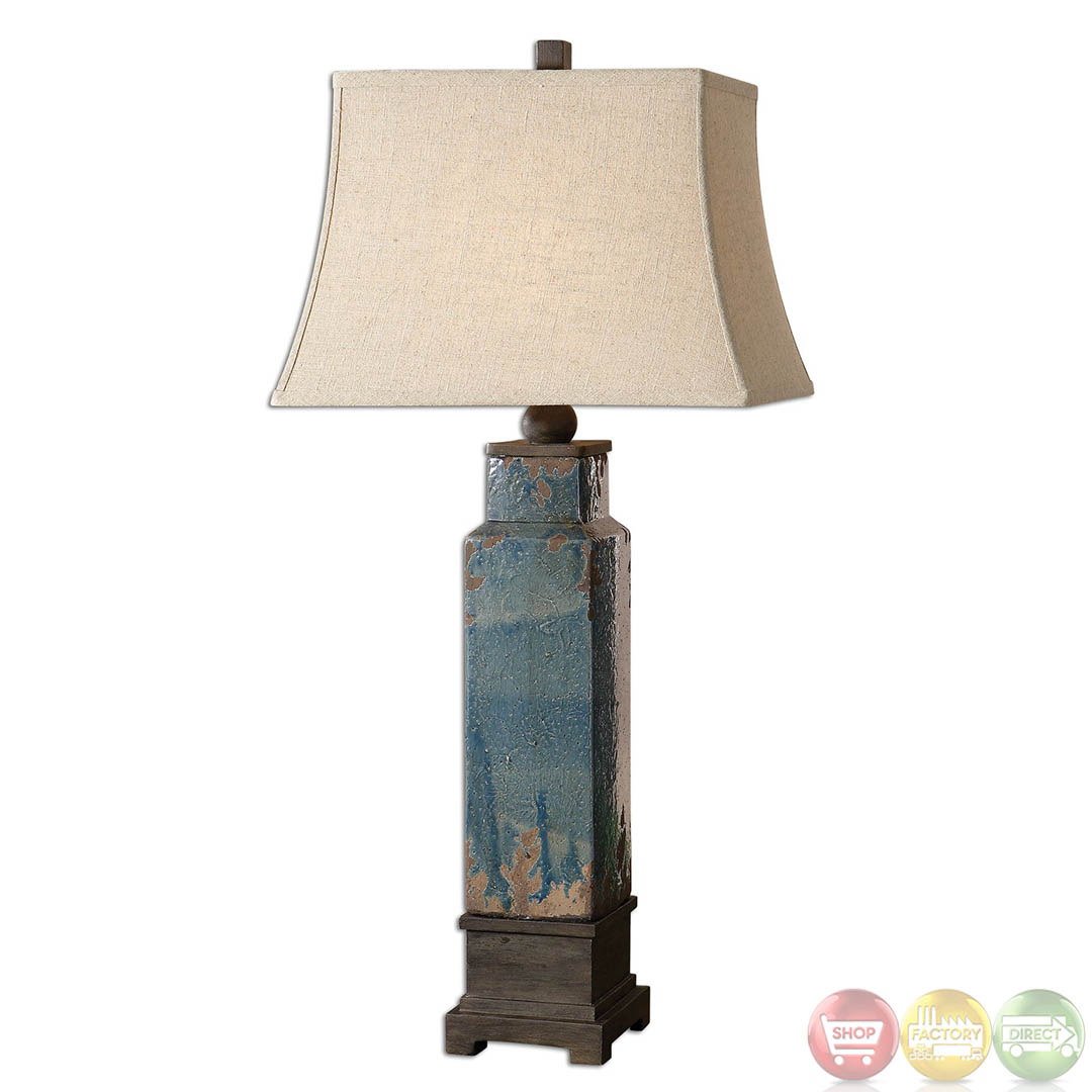 Rustic Table Lamps Uttermost Soprana Rustic Table Lamp 26833