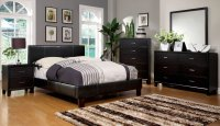 Winn Park Contemporary Espresso Platform Bedroom Set with ...
