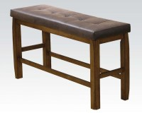Counter Height Bench w/ Storage Morrison by Acme Furniture ...