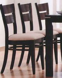 Occasional Dining Dining Chair in Cappuccino ( Set of 2 ...