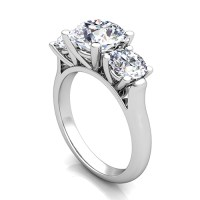 Ring Settings: Engagement Ring Settings Only Platinum