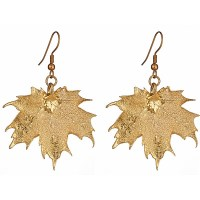 Electroplated Leaf Jewelry - Style Guru: Fashion, Glitz ...