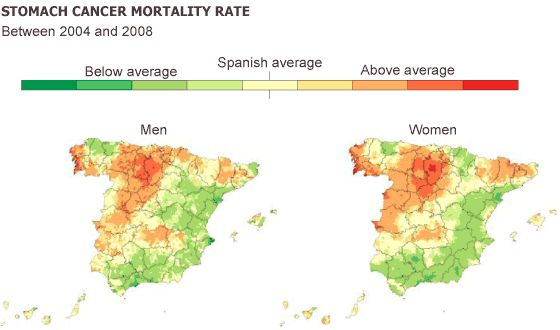 Spain\u0027s cancer map how patients\u0027 regions affect survival In
