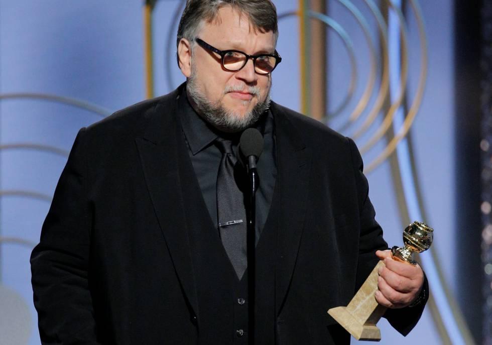 Guillermo del Toro, mejor director, aunque su película, 'La forma del agua', no se haya llevado ningún otro galardón.