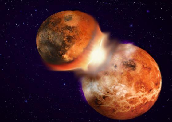 La Tierra Choco Con Un Planeta Gemelo Para Crear La Luna