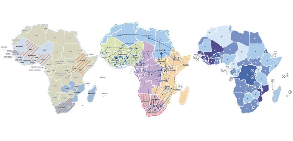 A maioria dos africanos não emigra para onde você (possivelmente