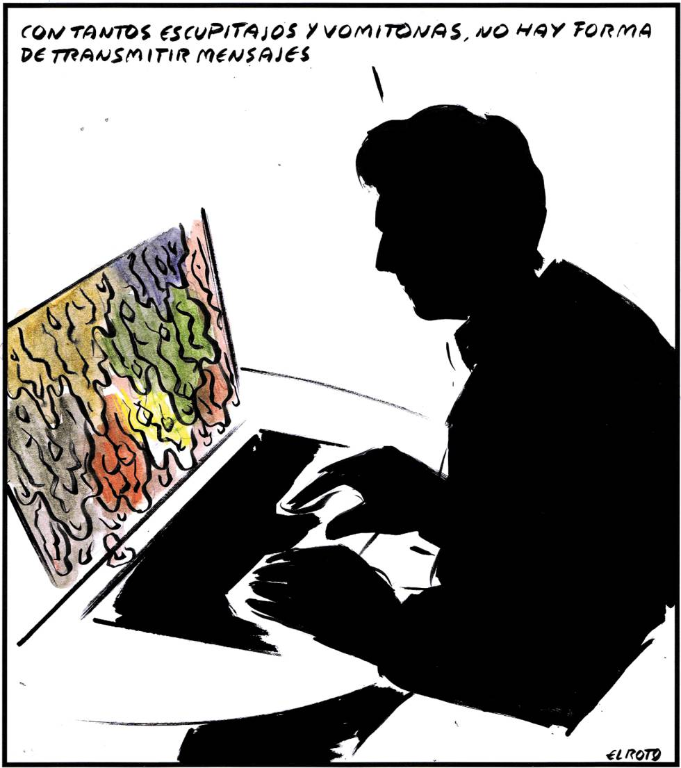 La Arte In Spanish Spanish Cartoonist El Roto El Roto In English El PaÍs