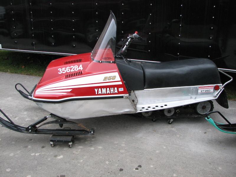 1978 Yamaha Enticer 340 Snowmobile Wiring Schematic Diagram