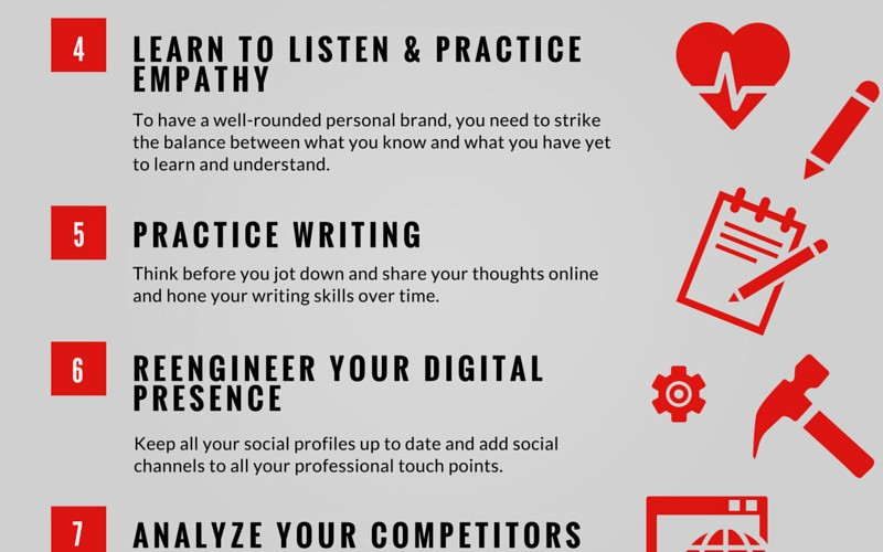 Your Personal Branding Strategy in 10 Steps (Infographic) - epbe
