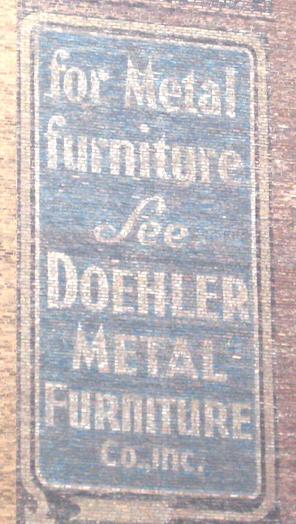 Doehler Metal Furniture Company Ephemeral New York