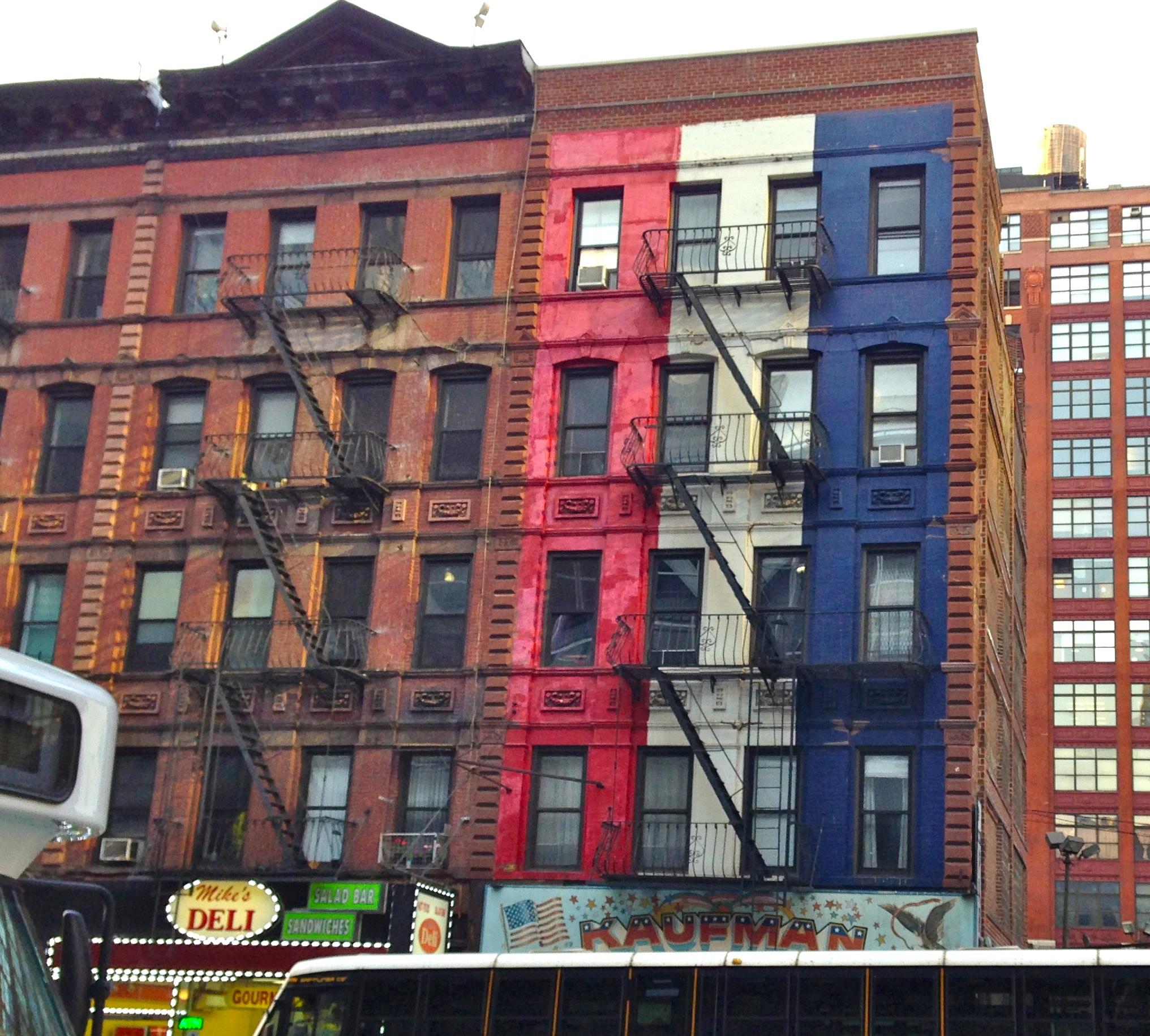 Cheap 3d Brick Wallpaper Avenue B German Broadway Ephemeral New York