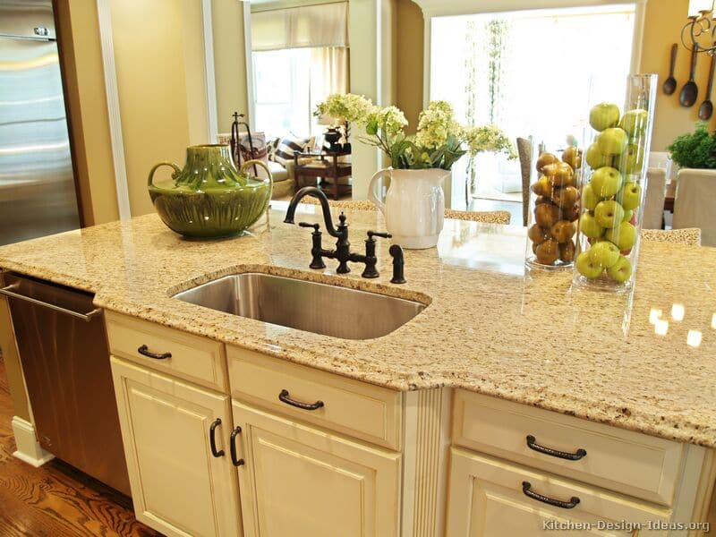 Most Popular Granite Colors For Countertops White Red